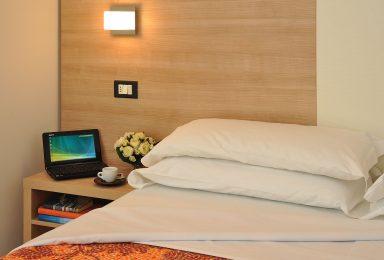 particolare cuscini camera comfort