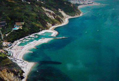 spiaggia di Gabicce e monte san bartolo