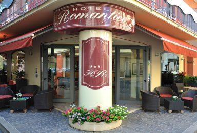 ingresso hotel romantico